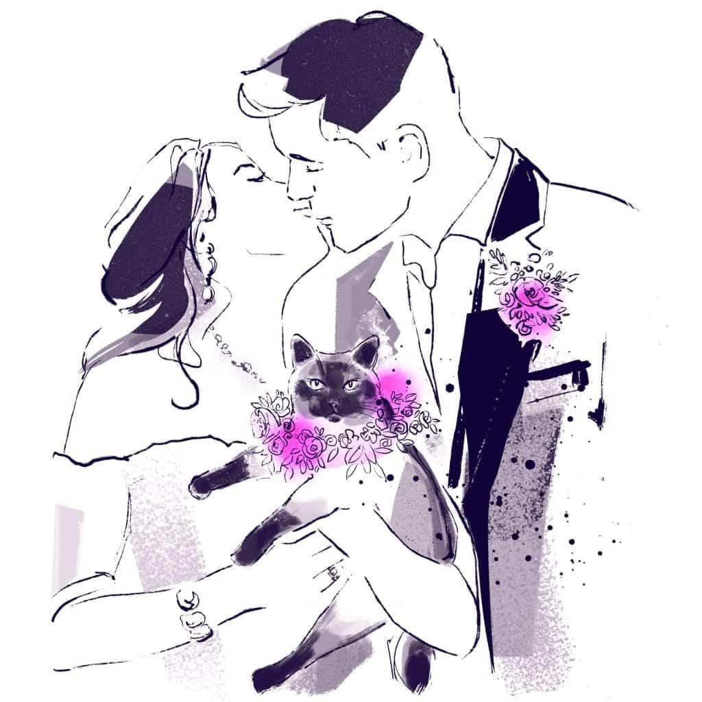 Como planificar una boda que acepte mascotas • La Guia