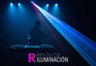 iluminacion laser