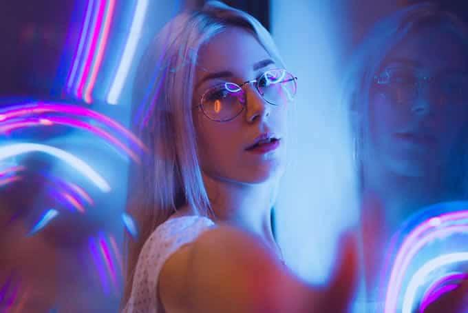luces neon para fiestas