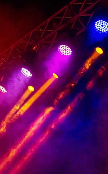 luces roboticas para fiestas