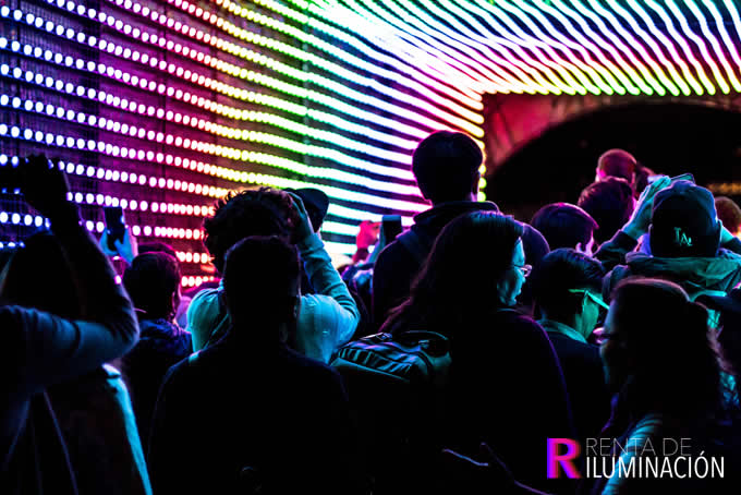 iluminacion club
