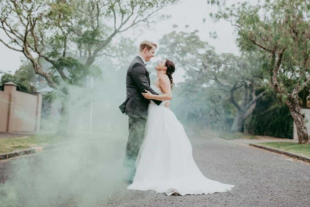 5 consejos para usar bombas de humo el día de su boda