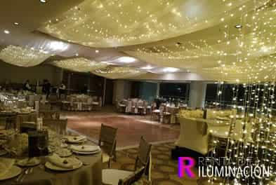 cascadas led para bodas