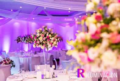iluminacion para bodas en
