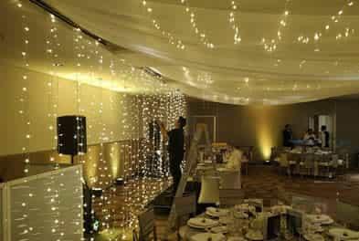 luz led para bodas