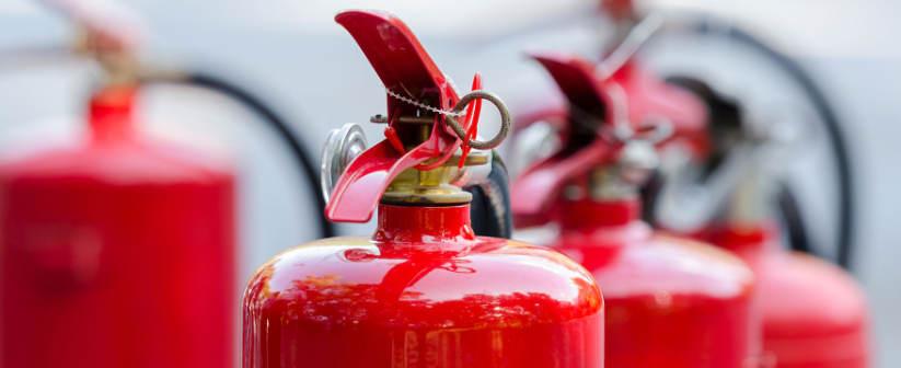 mantenimiento de extintores